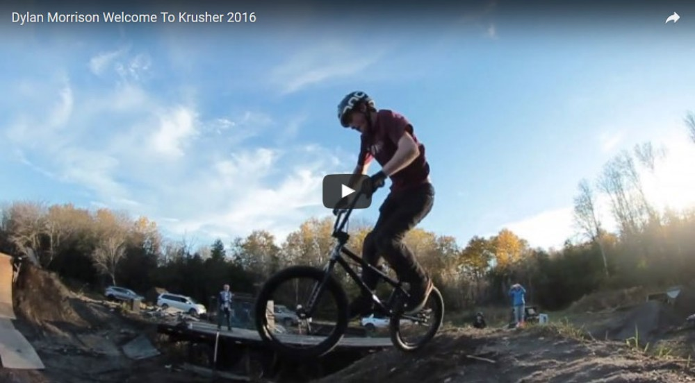 FATBMX KIDS: Dylan Morrison (13) Welcome To Krusher 2016 RIZZIBMX