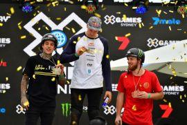 Dawid Godziek wins BMX Dirt gold   X Games Sydney 2018