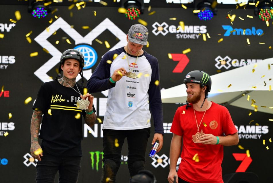 Dawid Godziek wins BMX Dirt gold | X Games Sydney 2018