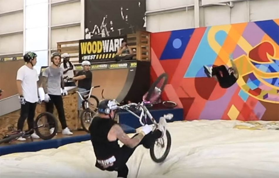 BMX RIDERS TRY SCOOTER TRICKS! by Ryan Williams