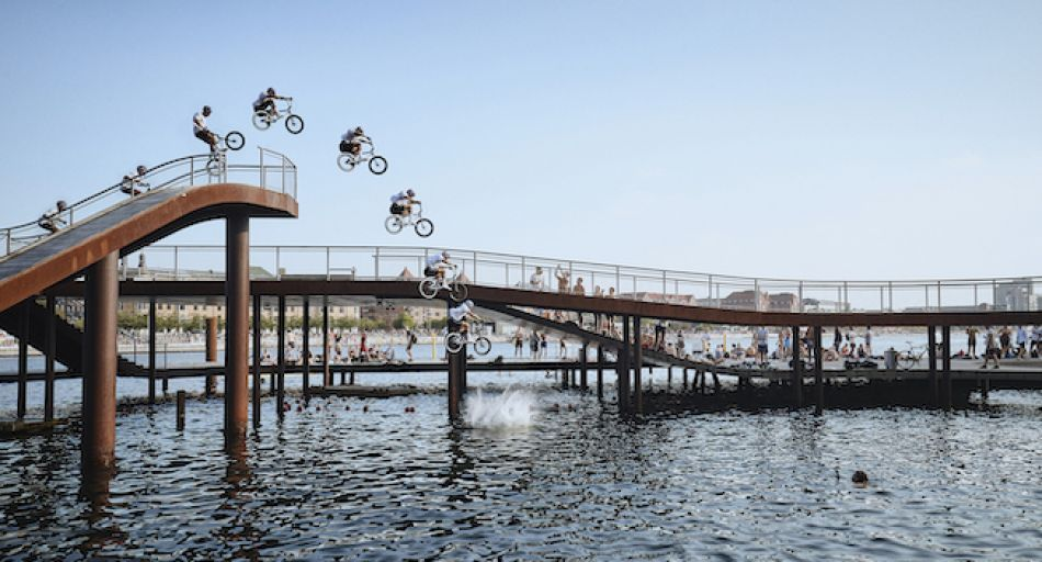BMX Riding Denmark's Best Places To Visit | w/ Kriss Kyle by Red Bull