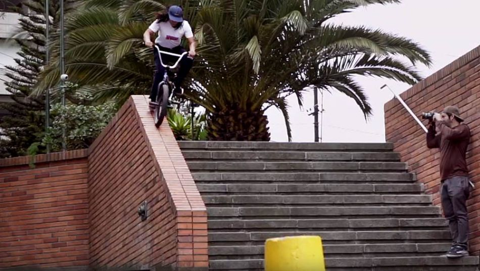 BMX Street Competition Women's 1st Place | Valentina Anahi by FISE