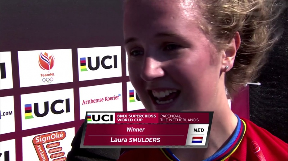 Laura's UCI BMX WorldCup Title Season 2016 by Laura Smulders