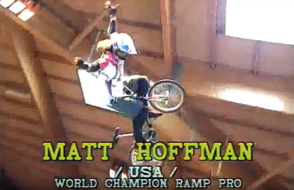 Matt Hoffman-bmx world champion ramp pro 1993 by Tone Stojko