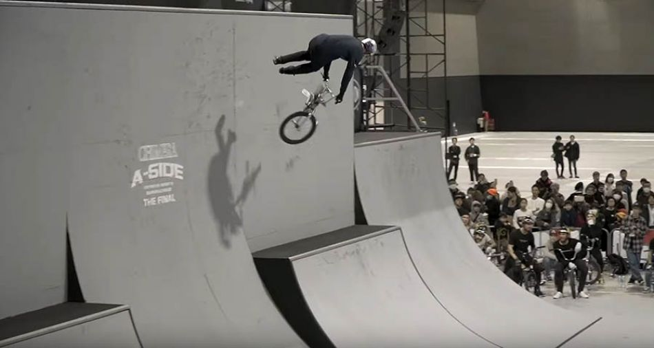 Rim Nakamura Qualifies 1st at Chimera A-Side by Vital BMX