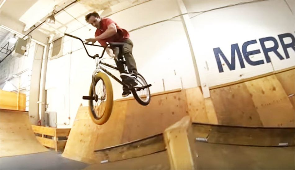 MERRITT BMX: BAD MATTY WAREHOUSE MISSION
