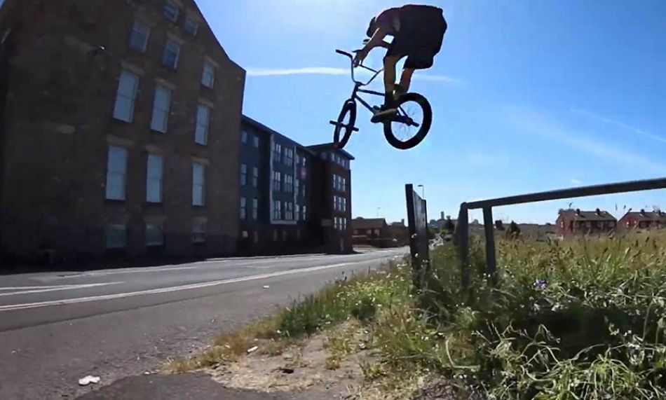 CRAZY PETE – Dub Highlife Part | Ride UK BMX
