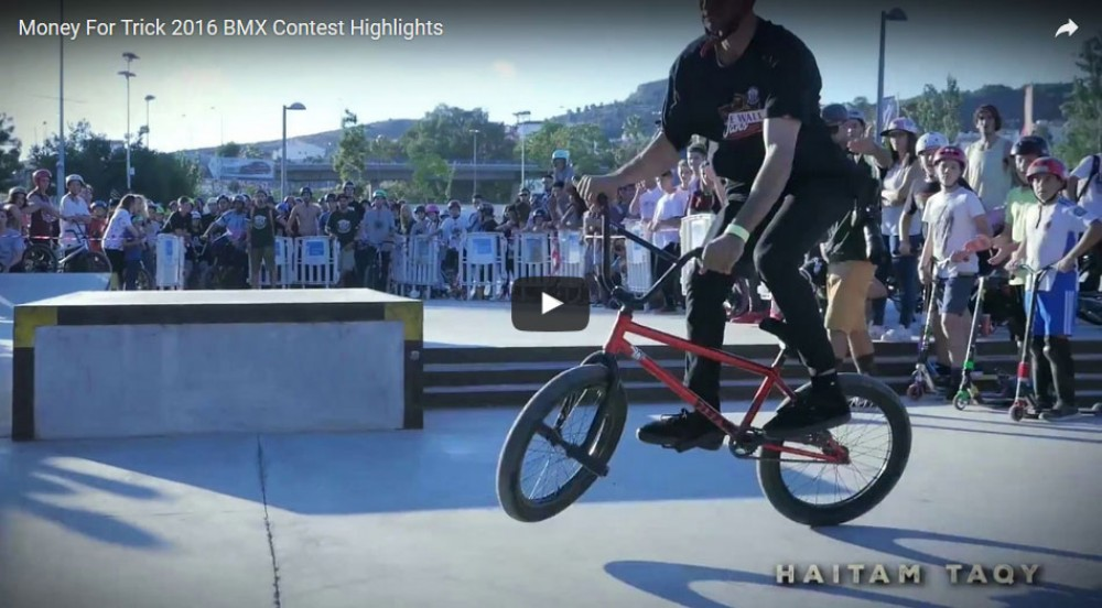Money For Trick 2016 BMX Contest Highlights by BMX Union