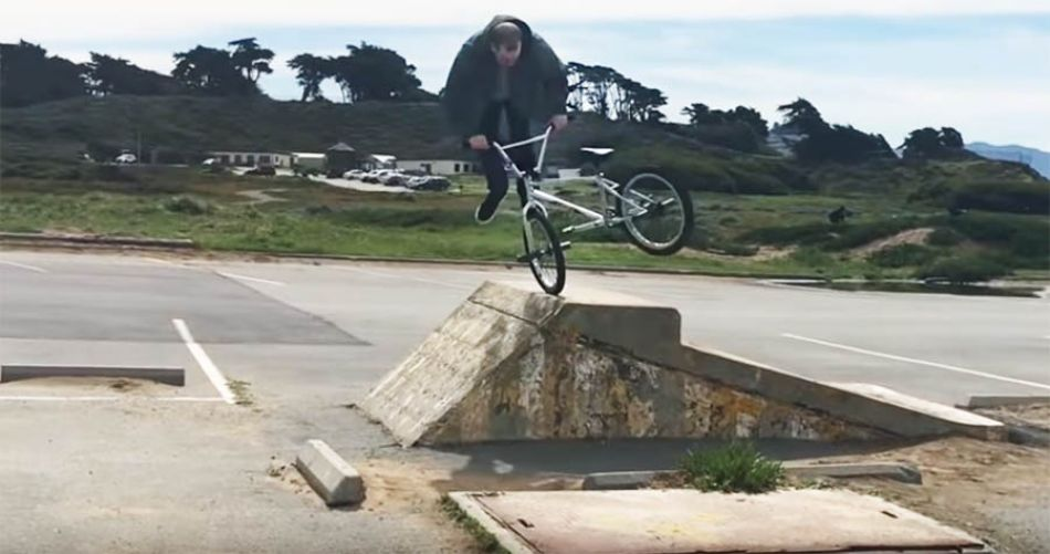 DAILY GRIND: REROUTING - TROY MERKLE FULL SECTION (BMX)