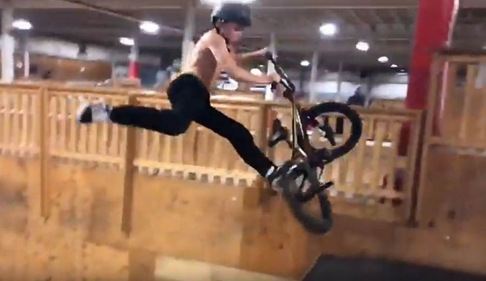 KEVIN ROBINSON JR (13) - WELCOME TO HAGER CO BMX by JACOB HAGER