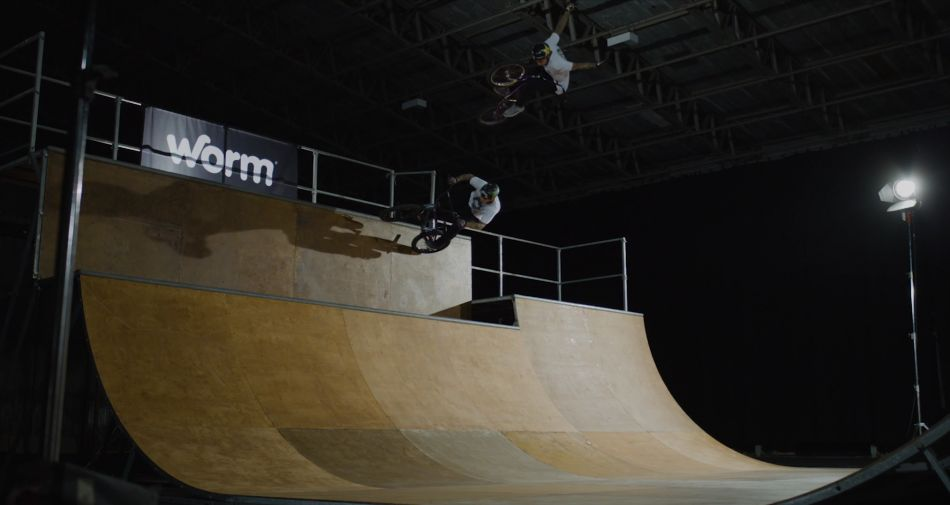 ALONE / Riding BMX in an Aircraft Hangar by Carter Hewlett