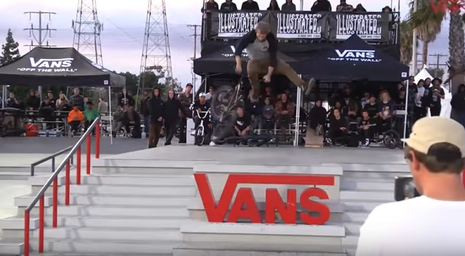 Vans BMX Street Invitational: Garrett Reynolds - 1st Place Run