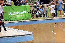 Zambrero BMX bowl battle 2021 - Groundswell festival - Scarborough Beach bowl by Freestyle Now