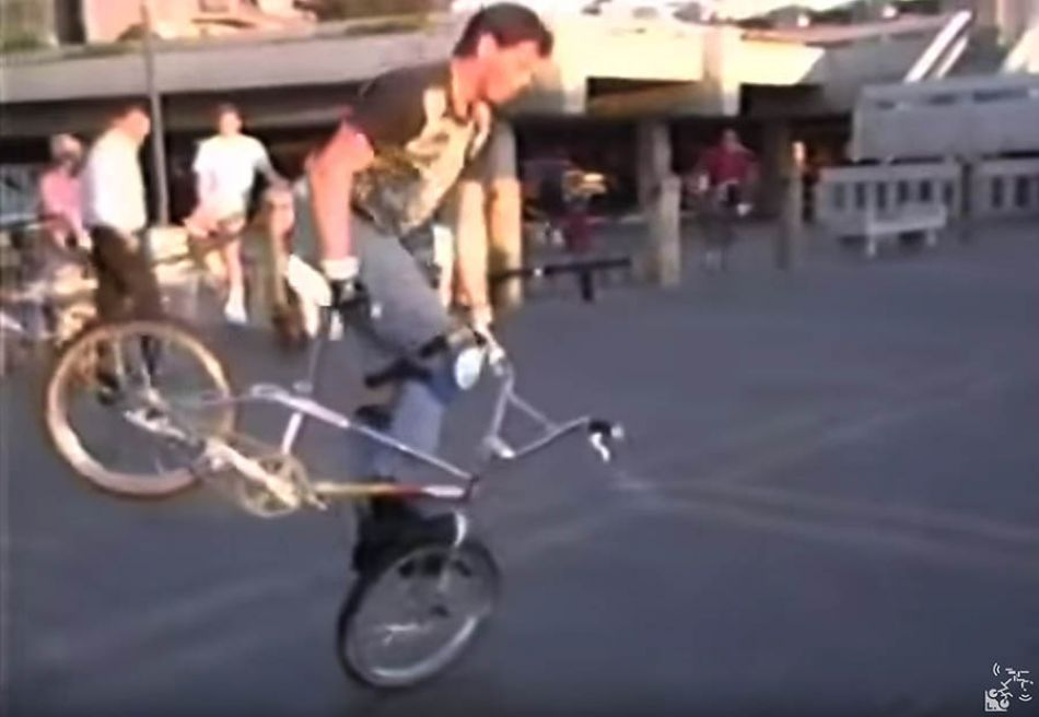 (1987) Freestylin' at the Spot by OldSchoolBMXTV