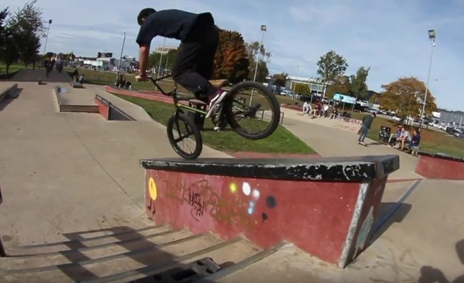 Day session at Radlands with Harry Barrett & Kris Bunnage // BMX by Harry Kris