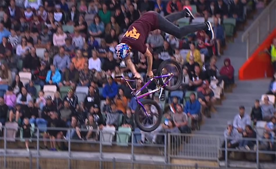 NEW WORLD FIRST BMX TRICK! by Ryan Williams