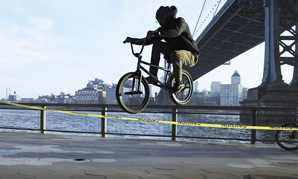 NYC BMX STREET RIDER - JAY | Official Cinematic BMX Video | LIFE BEHIND GRIPS by Life Behind Grips