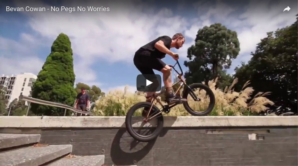 Bevan Cowan - No Pegs No Worries by sandmbikes
