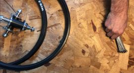 Wheel Build For My Hutch Pro Racer Restoration by Matthew Poster