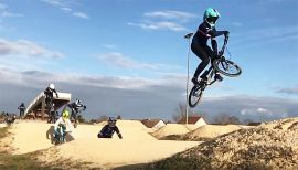 BMX Race - STAGE N°2 COLLECTIVE FRANCE WOMEN U22 - BOURGES by Simon Marchal