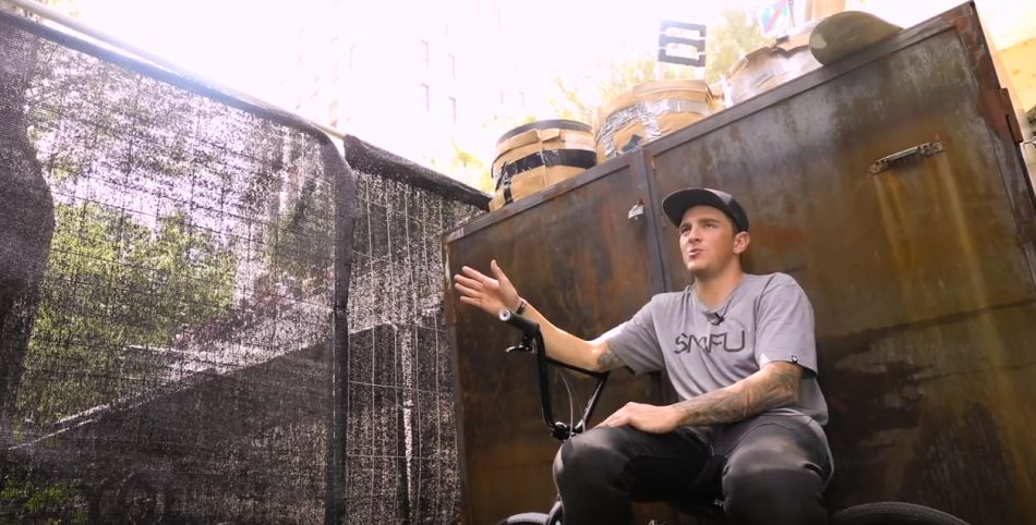 Brandon Loupos Talks Double Flairs, FISE: Montpellier, and More by Vital BMX
