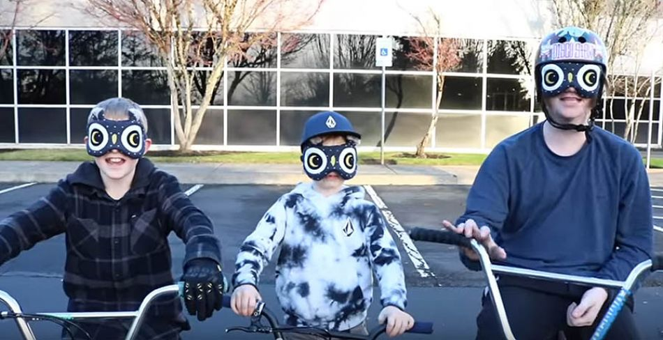 Blindfold BMX Trick Challenge! by Bmx Caiden
