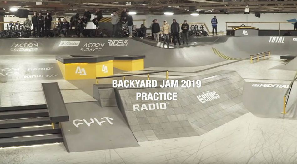 FIRST PRACTICE! BACKYARD JAM 2019 by Our BMX