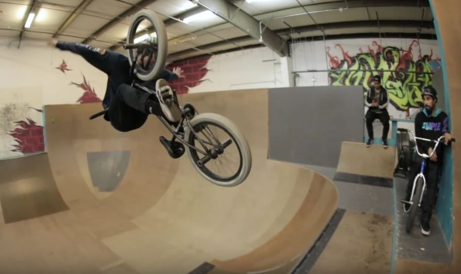 Kevin Peraza Destroys Premises Park by Vital BMX