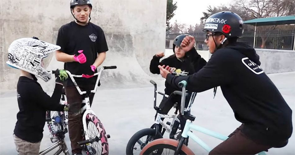 Game of BIKE- Park Kids VS Street Kids! by Bmx Caiden