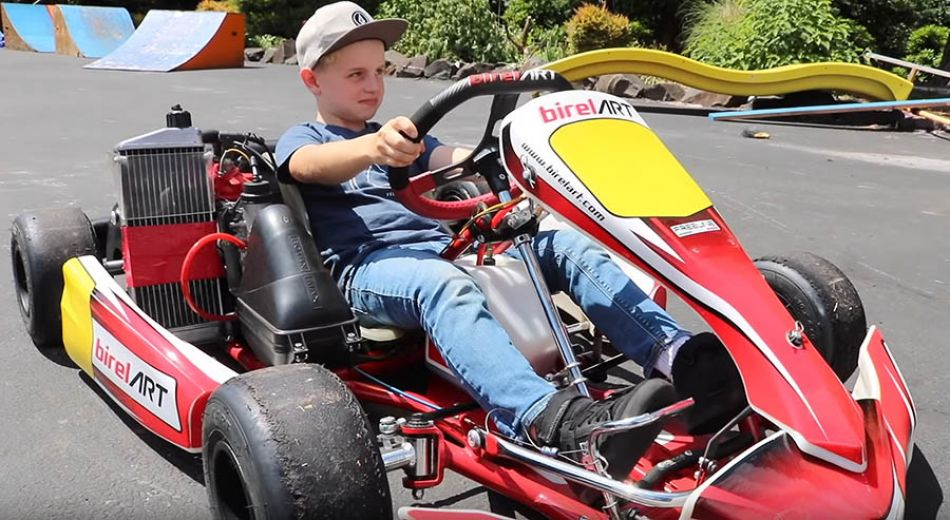 I Got a Racing Go Kart! *FIRST DAY AT THE TRACK!* by Bmx Caiden