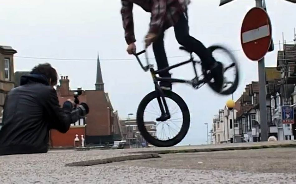 MAX HEDGES - South Coast BMX section