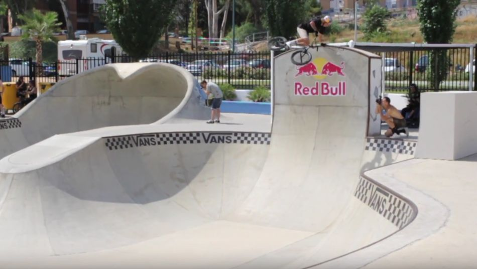 Vans BMX Pro Cup Malaga warm-up day by Antti Huotari BTS for FATBMX