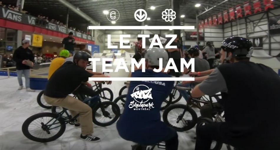 Cinema BMX x OGC - Le Taz Team Jam