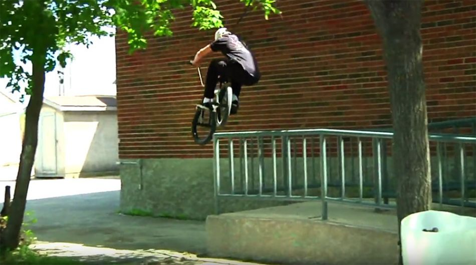 STREET BMX - BRANDON SAWCHYN // OGCBMX by team doink