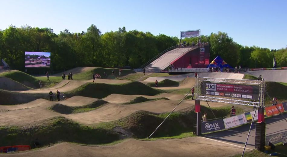 2018: Papendal - UCI BMX SX World Cup Round 4 Elite Women Final by bmxlivetv