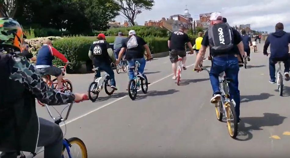 Cleethorpes Ride 2019 with Eddie Fiola and Martin Aparijo by Tony Montalbano