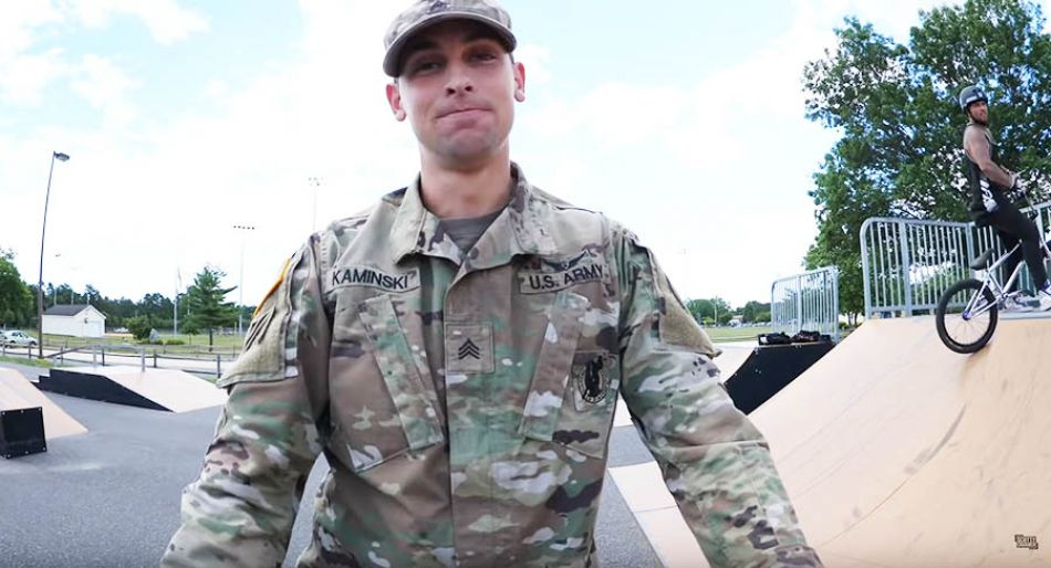 This Army Helicopter Mechanic Is An Amazing BMX Rider! by Scotty Cranmer