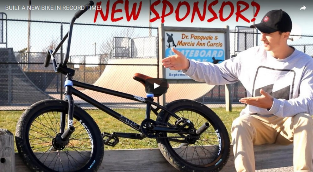 Built a new bike in record time! by Anthony Panza