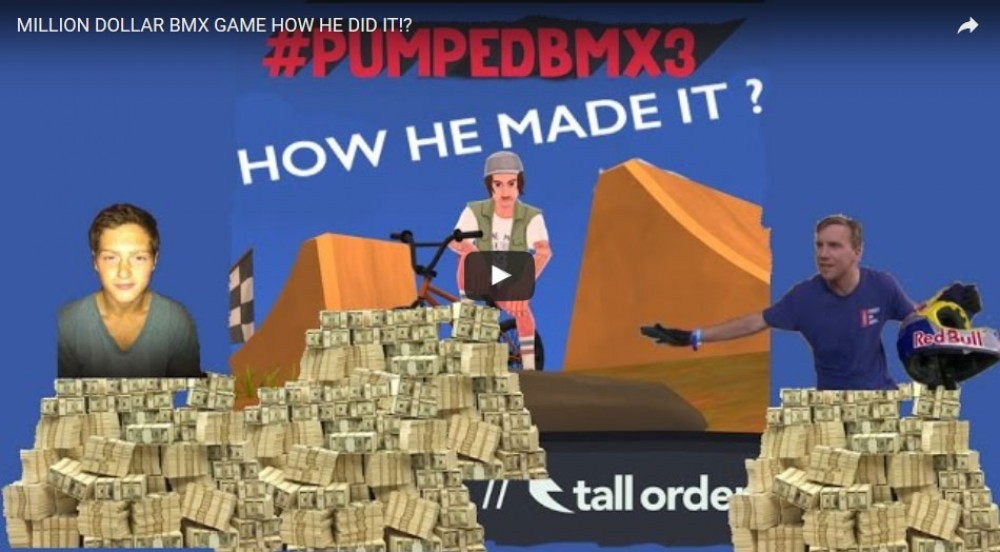 Million Dollar BMX Game. How he did it!? by Tall Order BMX