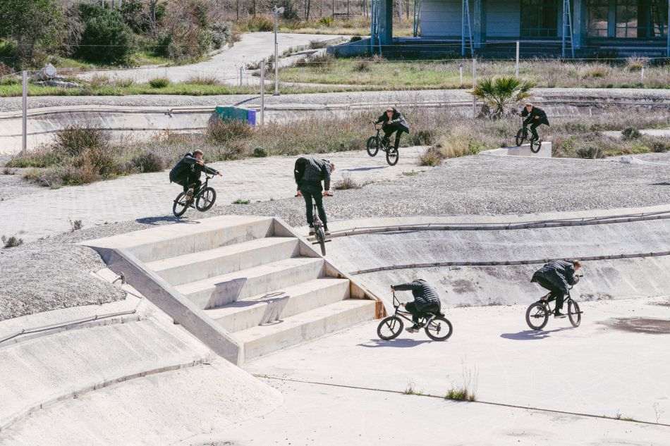 HELLINIKON: Riding BMX at an abandoned Olympic canoe track by CIAO CREW