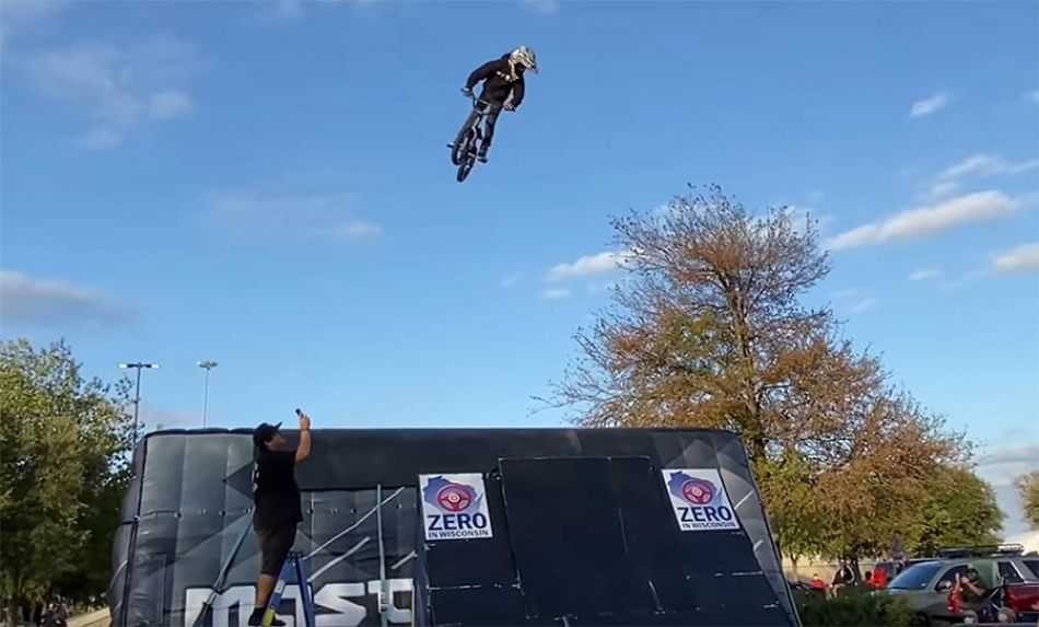 FATBMX KIDS: End of 9! Caiden's Freestyle BMX Trick Riding Progression!