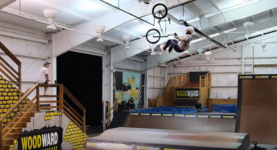 Diego Galdames BMX GOD at Woodward Camp by Clarke Withington