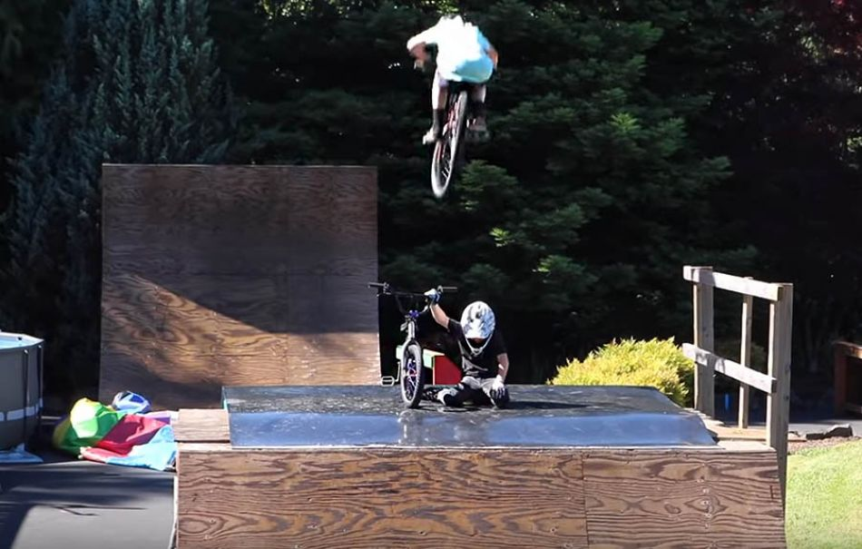 Would You Rather Challenge! Eat an Onion or Backflip into a Pool?! by Bmx Caiden